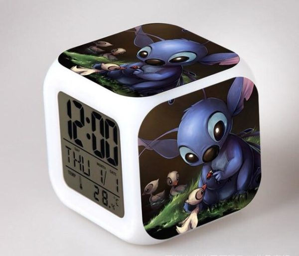 Alarm Kids Lilo & Stitch LED
